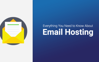 What is Email Hosting and types of email services available?